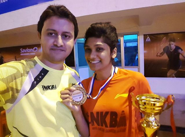Sanyogita Ghorpade, Nikhil Kanetkar, NKBA,81st Senior National Championship, Latest Indian Badminton News, Current Indian Badminton News, Latest Pune Badminton News, Current Pune Badminton News, Pune Badminton Live