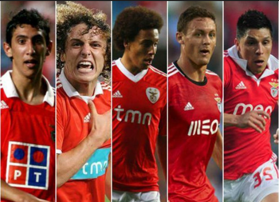 Benfica have sold some incredible players.101 great goals