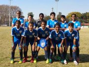 Soumya Guguloth with other team mates