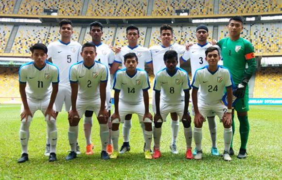 Football U16 India Lose 0 3 Against Malaysia
