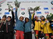 Elana Meyers Taylor won the IBSF World Cup