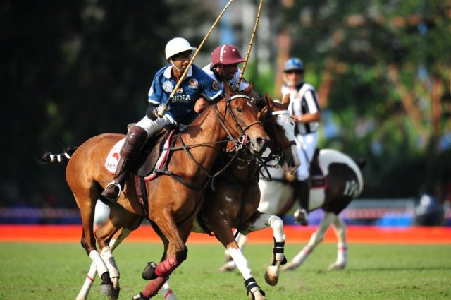 Simran Shergill, Indian Polo Star at Northern India Polo Championship 2019