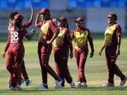 Windies women won ICC Women Championship tie