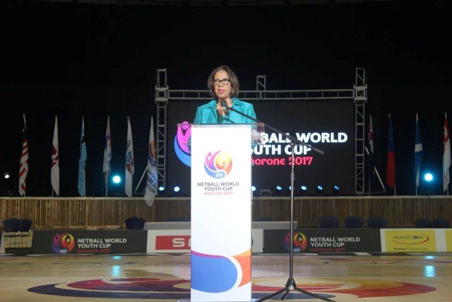 Molly Rhone announced the host for Netball World Cup 2023