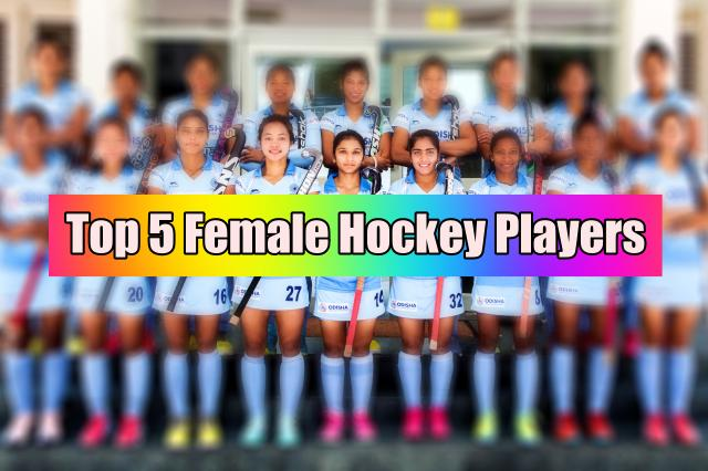 5 female hockey players of Indian Team