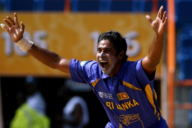 Chaminda Vaas-Most Wickets from Cricket World Cups