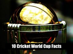 Cricket World Cup- 10 Cricket World Cup Facts