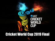 Cricket World Cup- Cricket World Cup 2019 Final