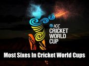 Cricket World Cup- Most Sixes In Cricket World Cups