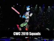Cricket World Cup Squads