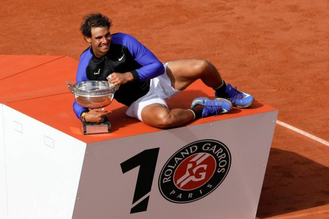 French Open 2017- 3 Times Rafael Nadal