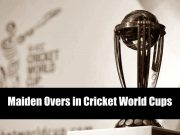 Maidens in Cricket World Cups