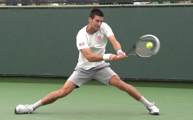 Novak Djokovic- Best Two-Handed Backhanders
