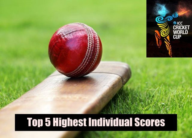 Top 5 Highest Individual Scores