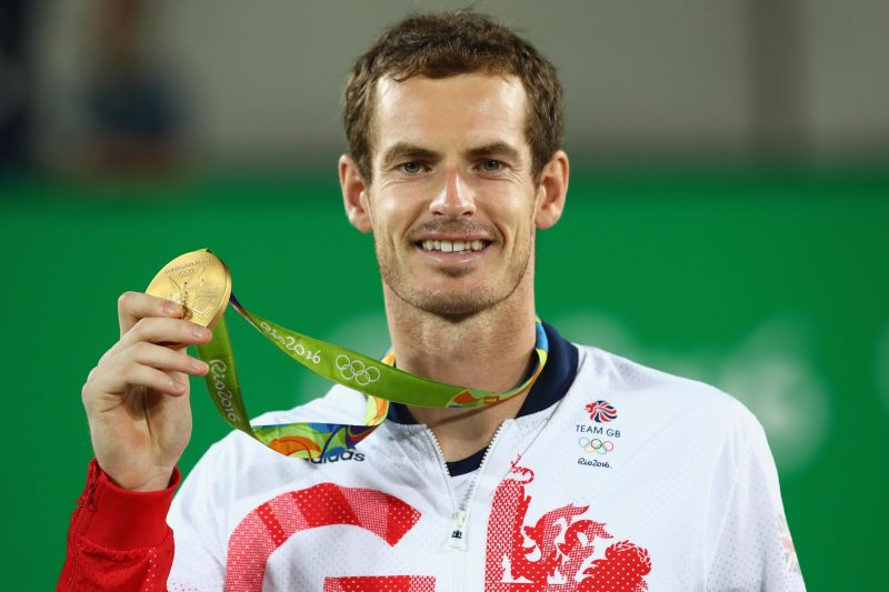 Andy Murray- 5 Tennis Players