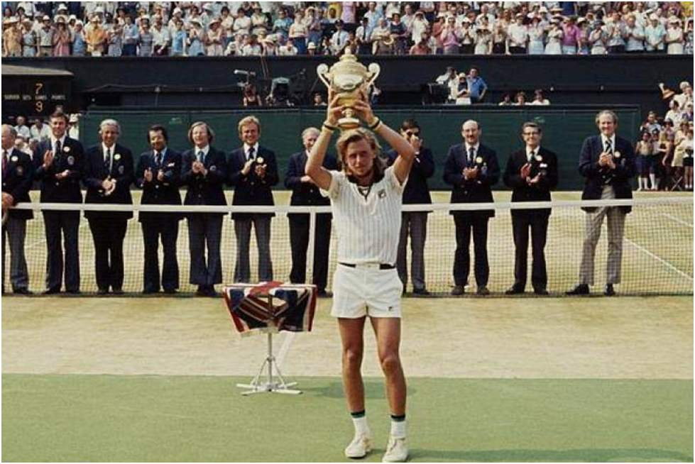 Bjorn Borg- Youngest Male Wimbledon Champions