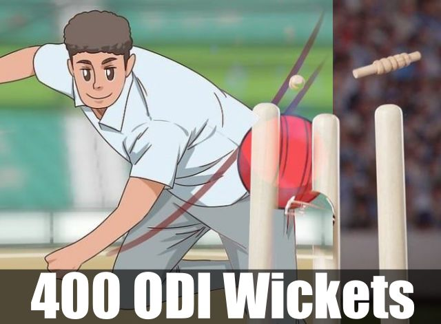 Cricket Bowler- Fastest To 400 Wickets
