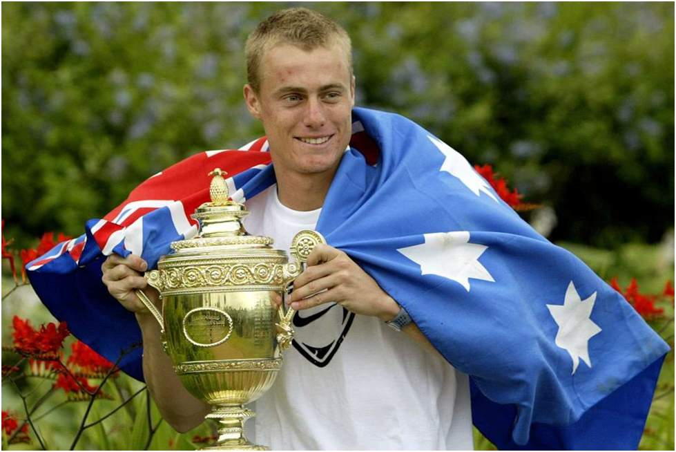 Lleyton Hewitt- Youngest Male Wimbledon Champions
