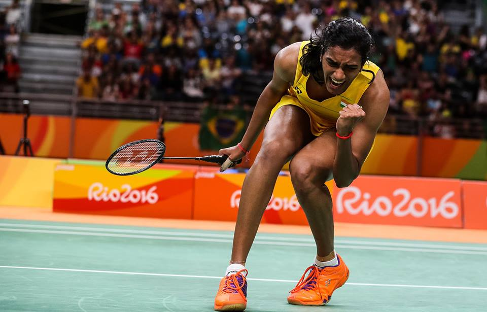 P V Sindhu- Top 5 Indian Olympians