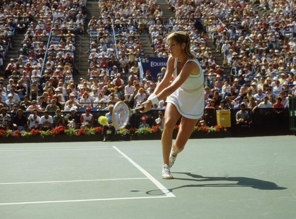 Chris Evert- Most Wins In WTA Tennis History
