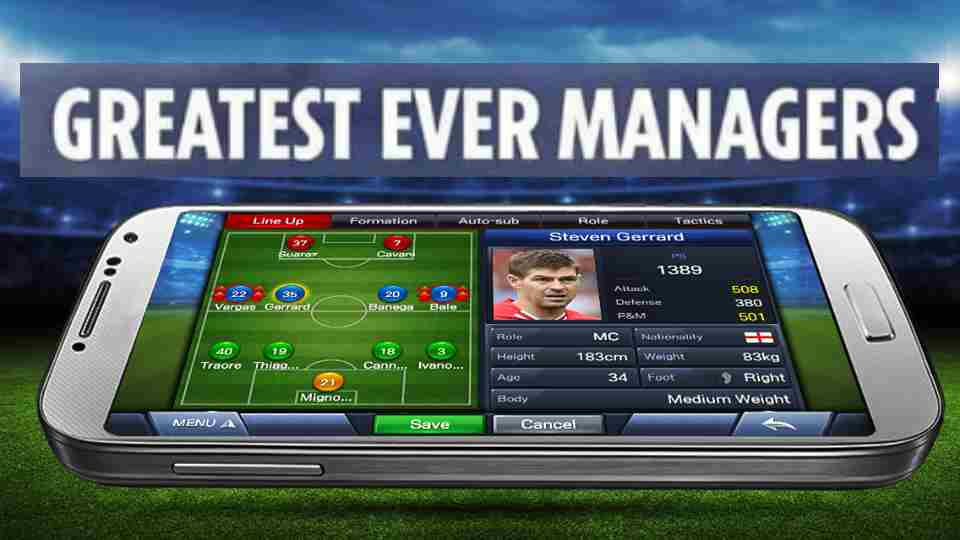 Top 10 Football Managers