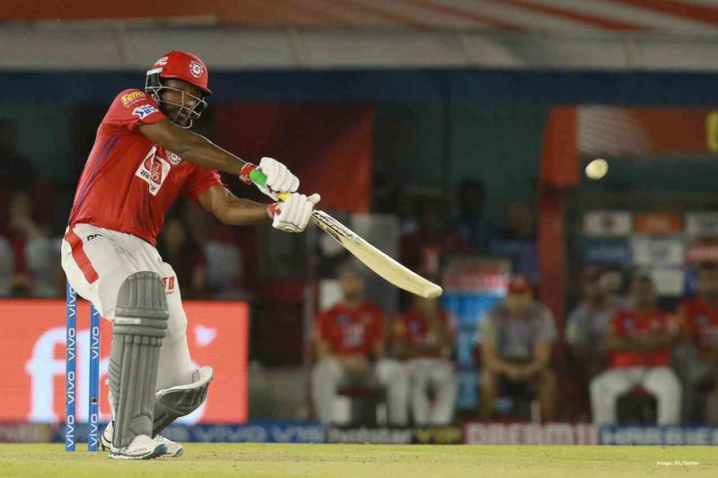 Gayle- 7th most runs in IPL