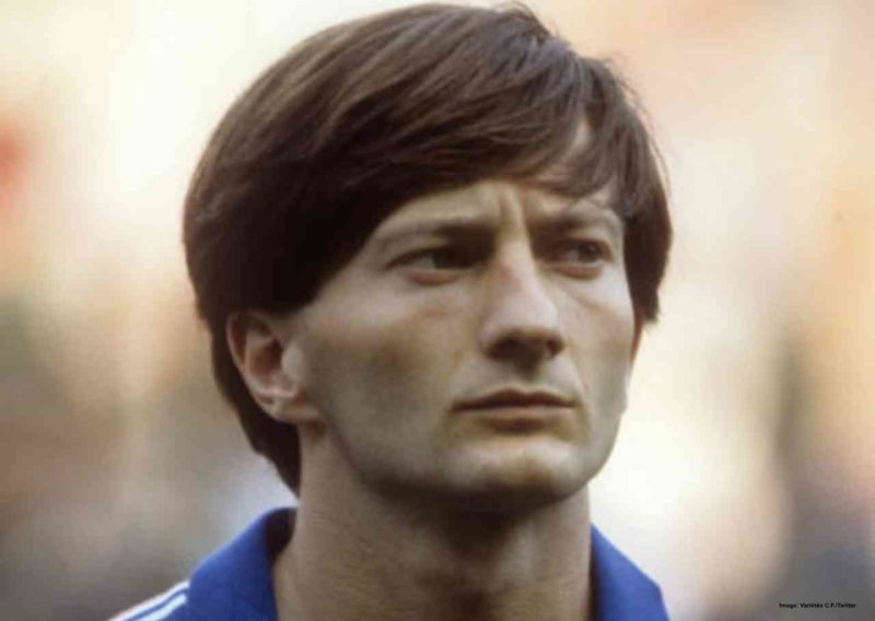 Domergue- 3rd most goals in Euro 1984
