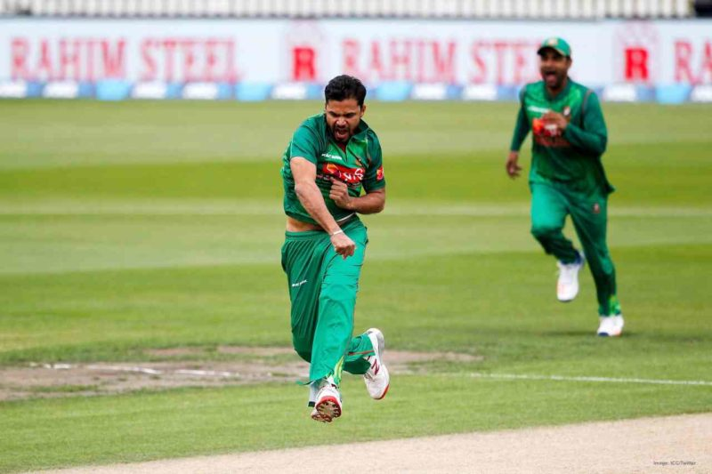 Mortaza - 3rd most wickets in Asia Cup 2012