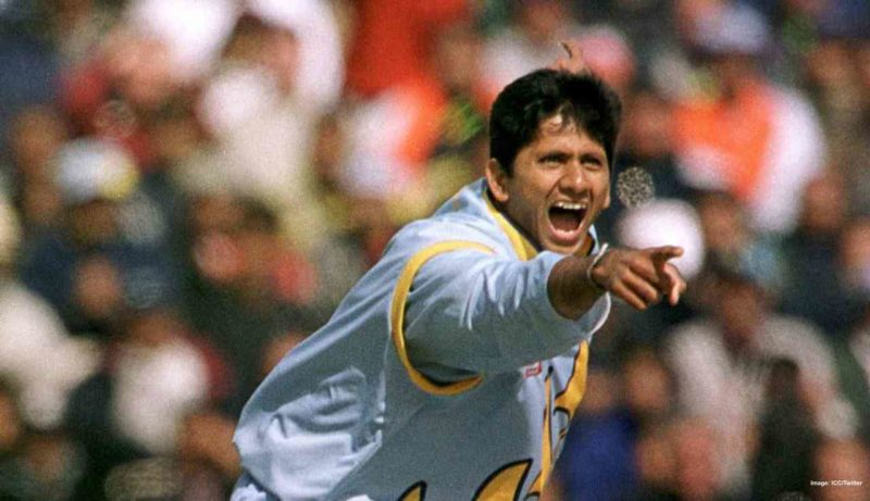 Prasad- 2nd most wickets in Asia Cup 1995