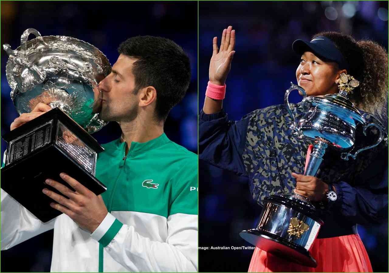 Aus Open: Djokovic Wins His 9th Title; Osaka Wins Her Second